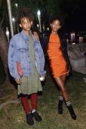 jaden smith in a dress with willow smith