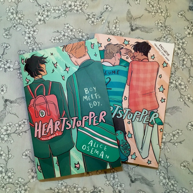 heartstopper graphic novel books