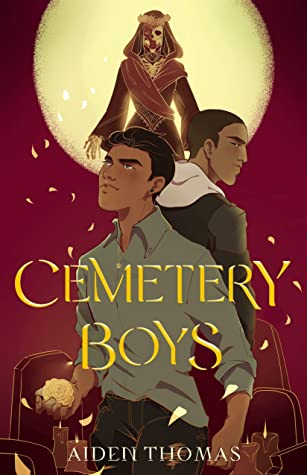 Cemetery Boys book cover by Aiden Thomas